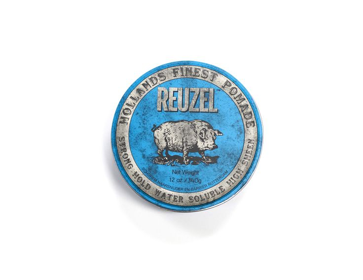 Reuzel Strong Hold Water Soluble High Sheen Pomade 340g.
