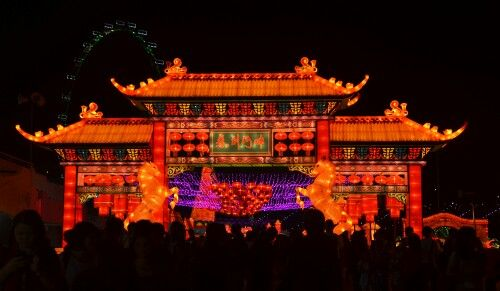 Chinese New Year Eve's Lantern Festival in Singapore