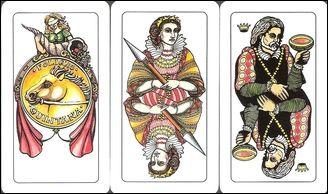 I mazzi regionali italiani - Tarocchi e carte da gioco, Tarot and Playing cards