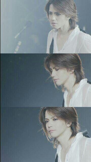Hyde, or Hideto Takarai, in white I am so fall in love with him