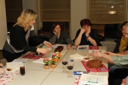 Workshop creatief schrijven / taart eten