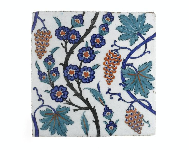 Turkey, Iznik, Ottoman, possibly from the Takejiler Cami Mosque, late 10th century AH / late 16th century AD