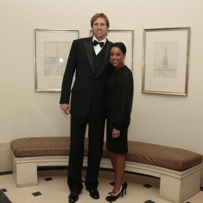Dirk Nowitzki And His Wife || #bwwm #wmbw