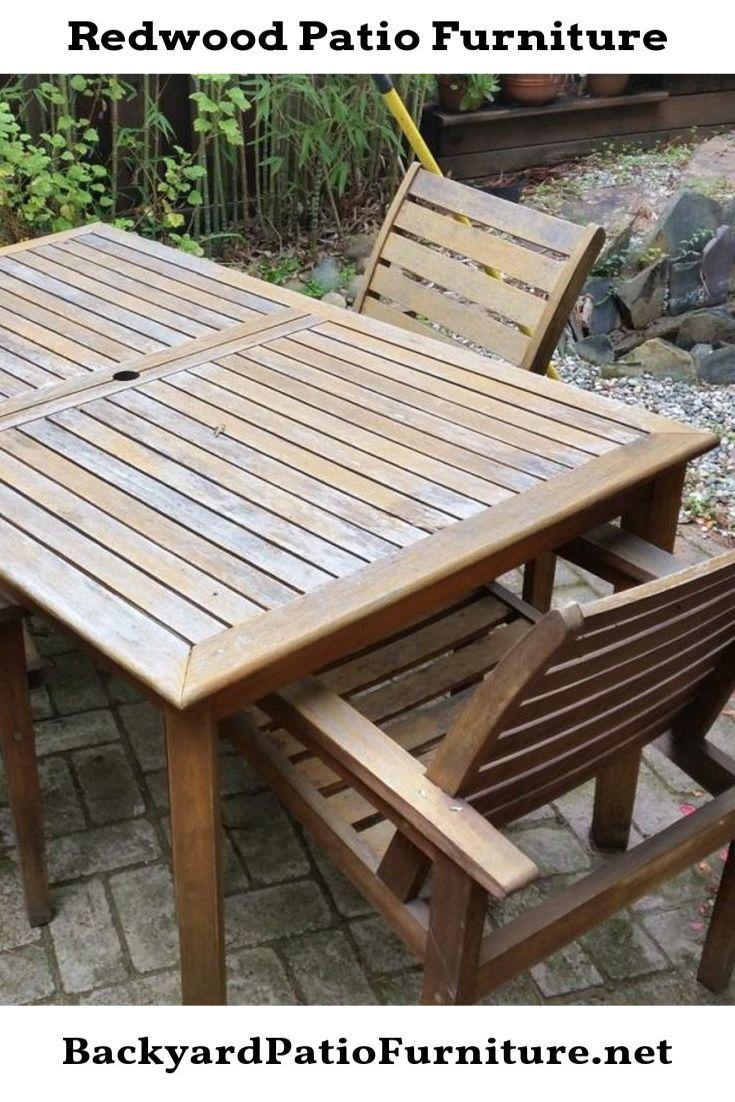 Why Teak Wood Patio Furniture
