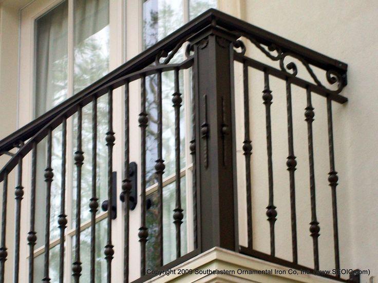 Balcony railing http://www.southeasternornamental.com/deck_railing_103_.jpg