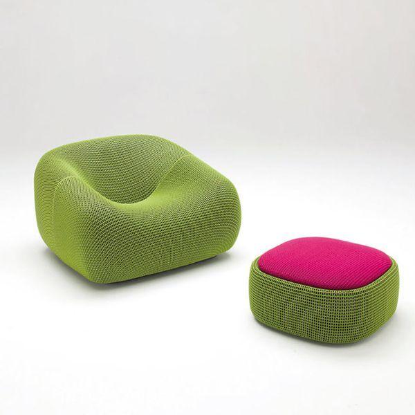 Pouf Smile - design Francesco Rota - Paola Lenti