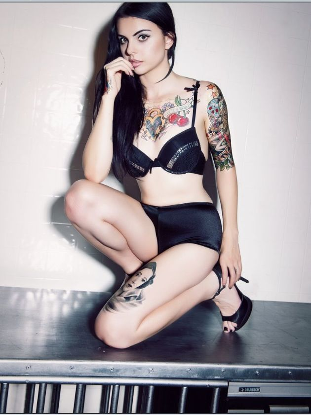 suicide girls high heels