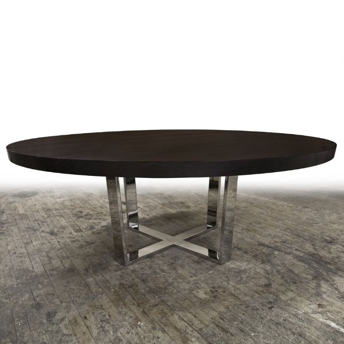 best 25 large round dining table ideas on pinterest large round table large dining room. Black Bedroom Furniture Sets. Home Design Ideas