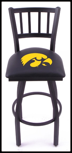Iowa >> Hawkeye Bar Stool | Iowa Hawkeye Stuff! | Pinterest | Bar stool, Stools and Iowa