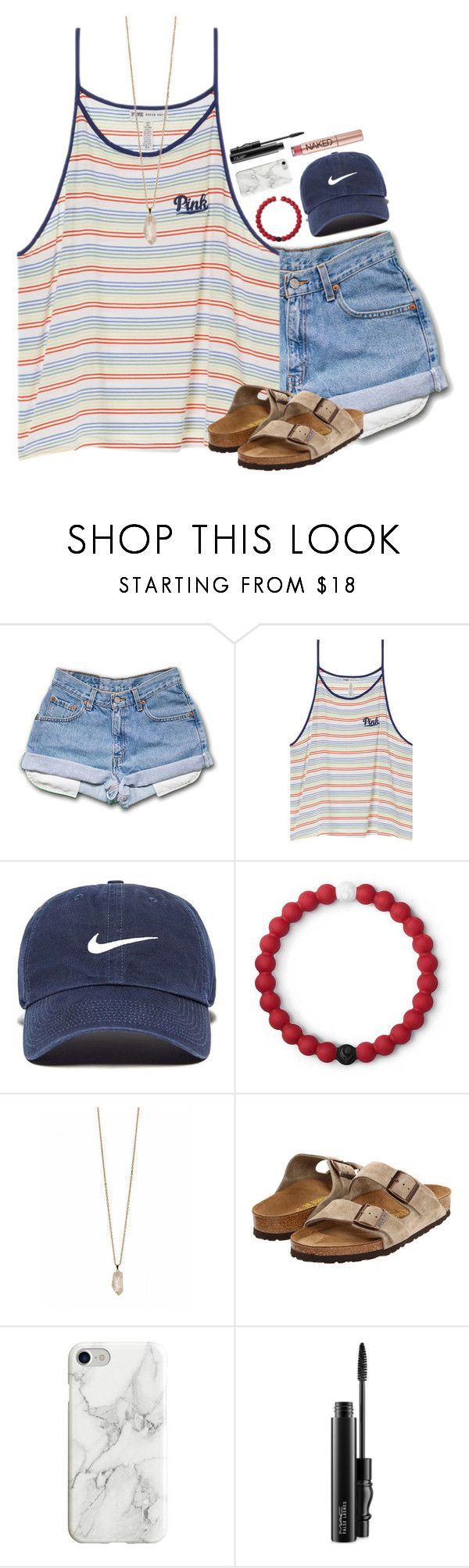 """75 and sunny"" by neutralskies ❤ liked on Polyvore featuring Victoria's Secret, NIKE, Lokai, Zoya, Birkenstock, Recover, MAC Cosmetics and Urban Decay"