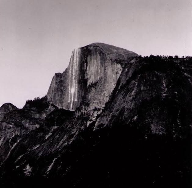 Many Yosemite National Park visitors have heard of (as well as witnessed) the famous Firefall, a cherished tradition in which a bonfire was pushed over the edge of Glacier Point, creating a fiery spectacle. But did you know there was another Firefall?