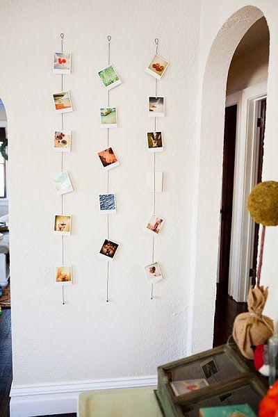 Un collage de fotos para las paredes de casa