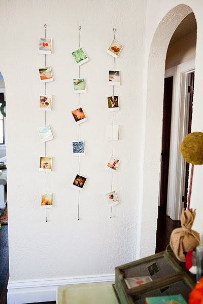 Un collage de fotos y una pared | Decorar tu casa es facilisimo.com
