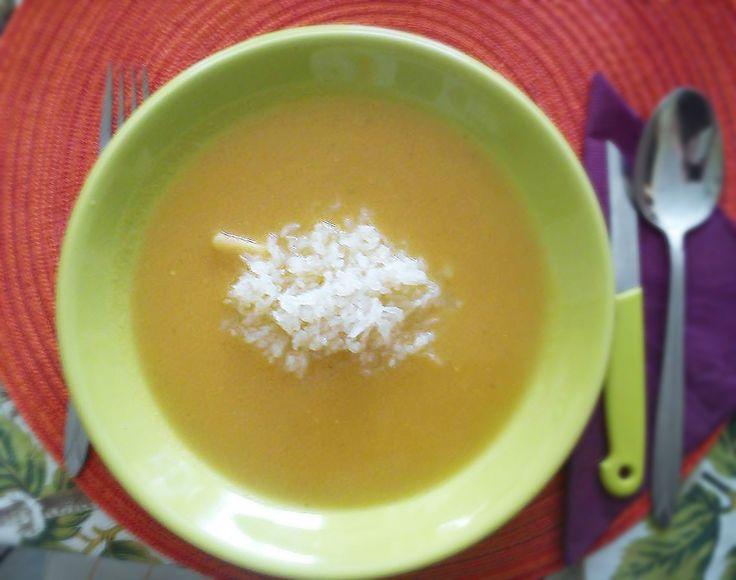 Zöldség krémleves NoCarb Rizsbetéttel | Klikk a képre a receptért!