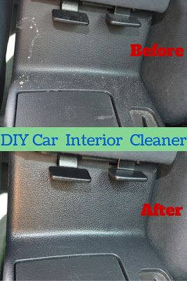 It Really Is This Easy: DIY cleaner for the interior of your car with just water, olive oil, vinegar, a little bit of soap and a few drops of EO's