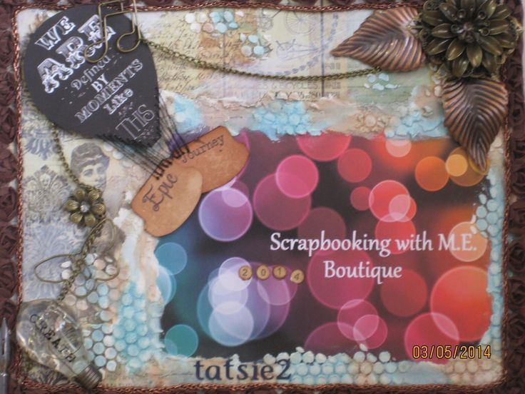 Tammy's DT kit for September. #scrapbooking, #crafts, #mixed media   September DT Kit from Scrapbooking With M.E. Boutique