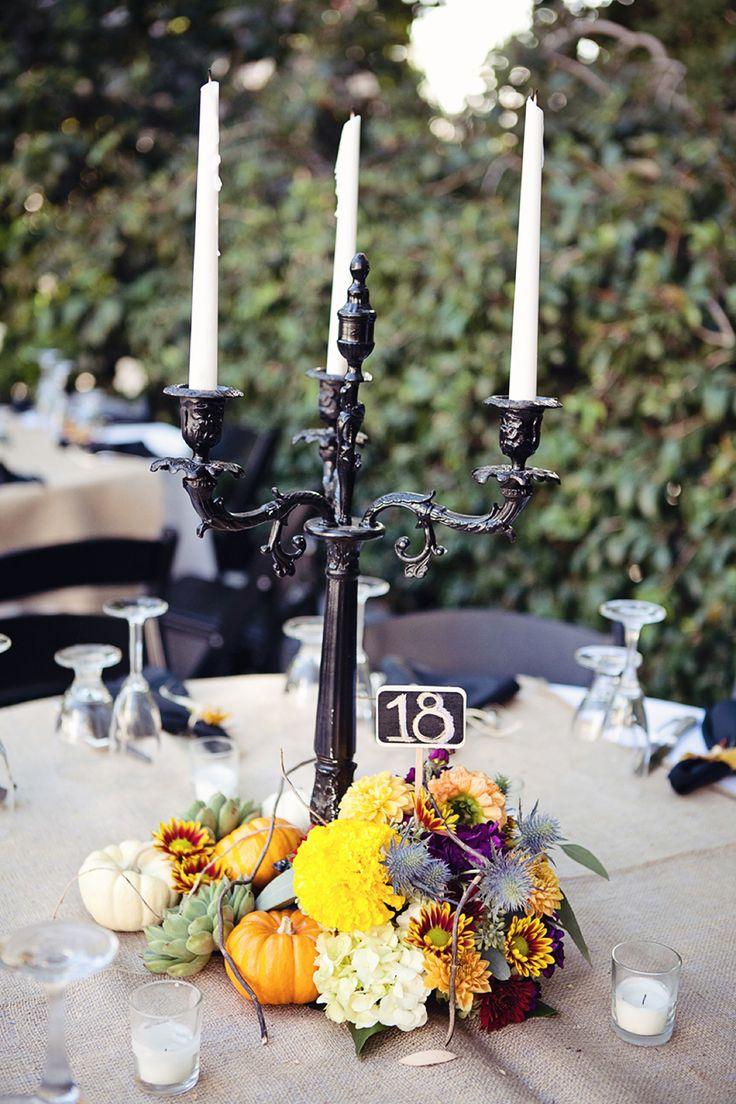 hallowedding centerpiece ideas halloween wedding by leila - Halloween Wedding Centerpieces