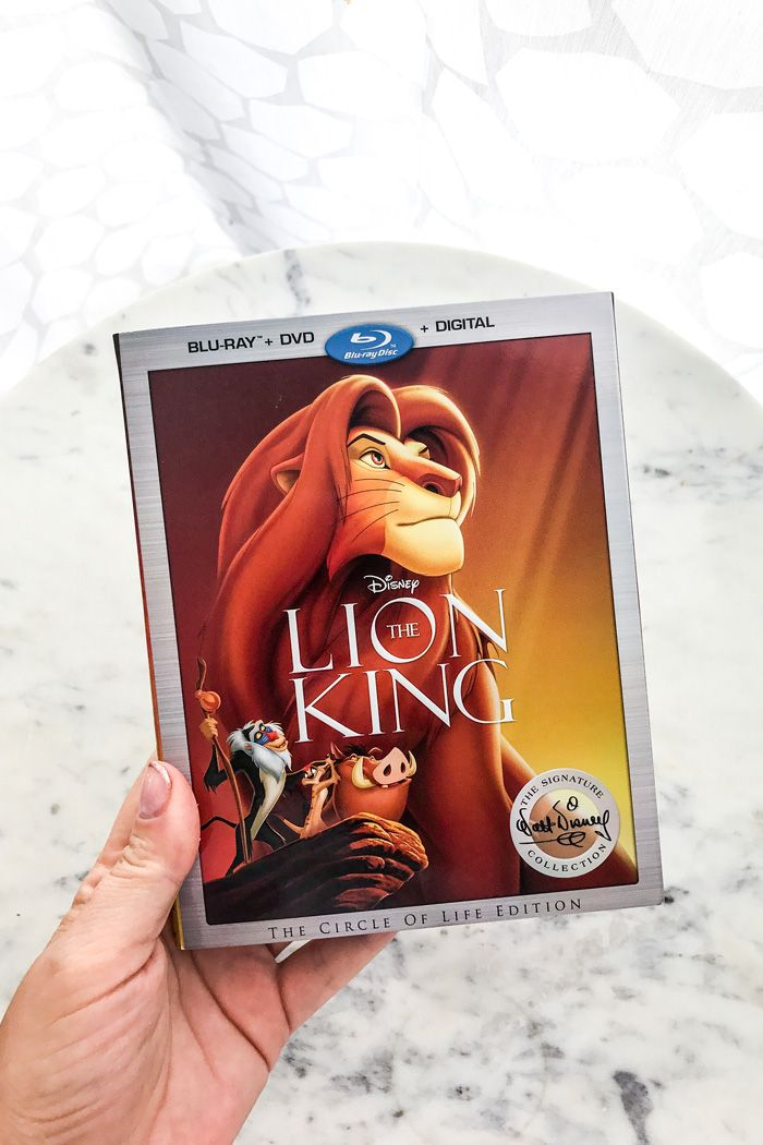 The Lion King party ideas with the sing-along blu-ray digital HD of The Lion King decor and party favors with some from The Lion Guard too