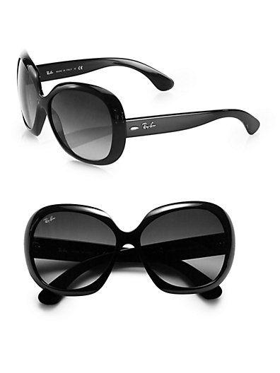 Ray-Ban - Vintage Oversized Round Jackie Ohh Sunglasses - Saks.com