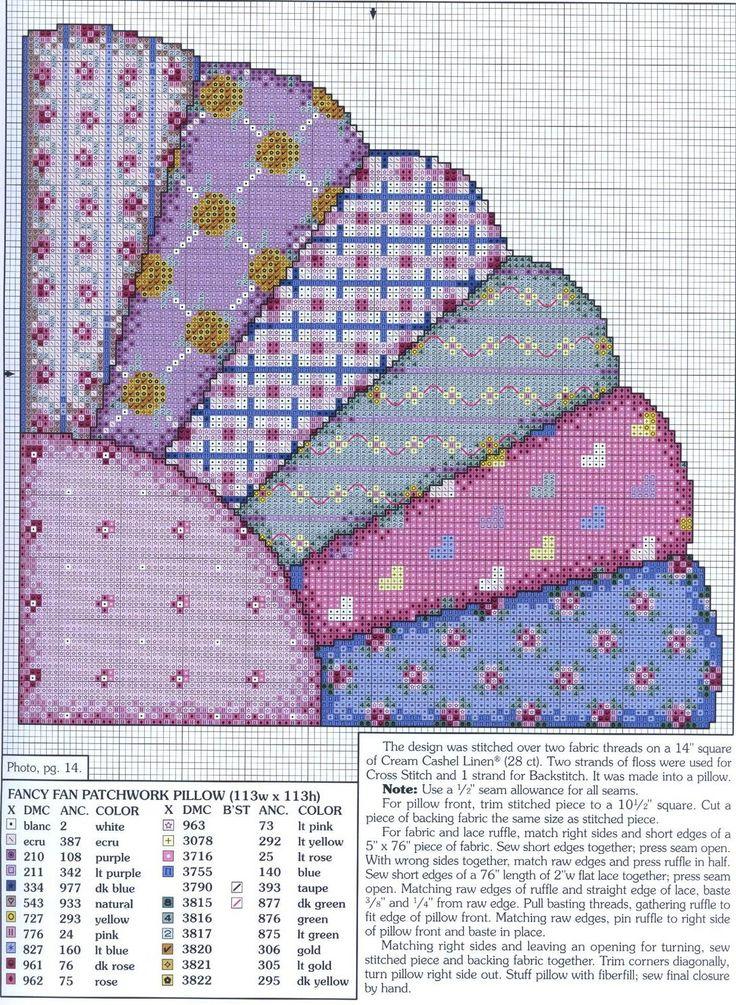 284 best Cross stitch quilts images on Pinterest | Punch needle ... : cross stitch quilt block patterns - Adamdwight.com