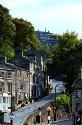 (PHOTO: Yorkshire Tourism)  Travel quiz: Can you name Britain's famous TV locations?   10 - Recognise this Yorkshire village? It's the setting for one of Britain's most popular sitcoms of all time...