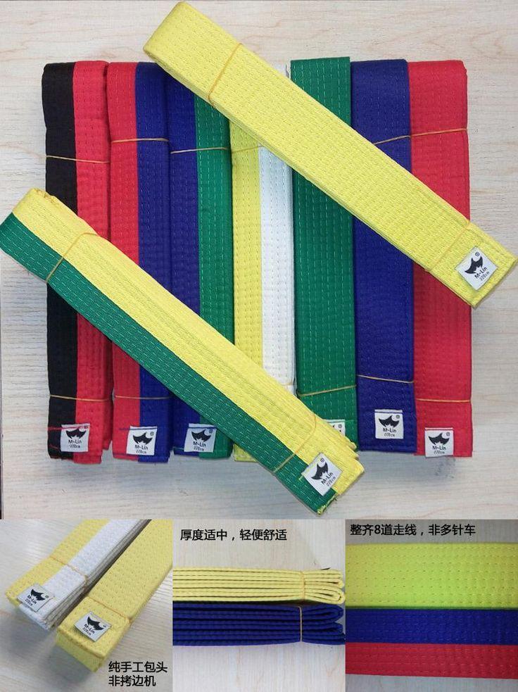 [Visit to Buy] Tae kwon do Belts Martial Arts Karate Judo Standard Taekwondo Professional Belts Taekwondo dobok Tapes Road Protective Waistband #Advertisement