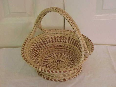 Sweet grass baskets from charleston sc