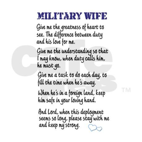 Military Wife's Prayer Journal on CafePress.com