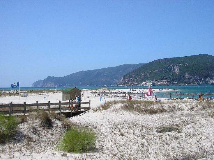 Beach of Tróia - Troia, Setubal - Spent all my free time here sailing, going to the beach and having fun with my friends