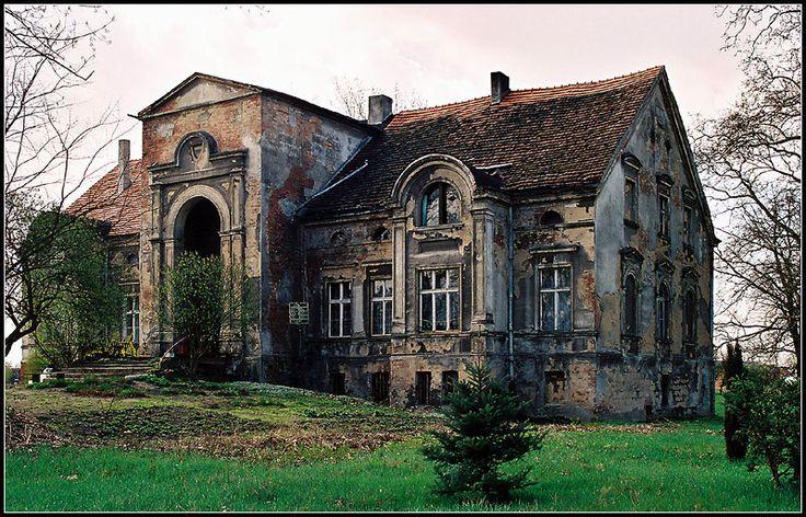 Mansion-house built in 1877 year for Henry Skarzynski.