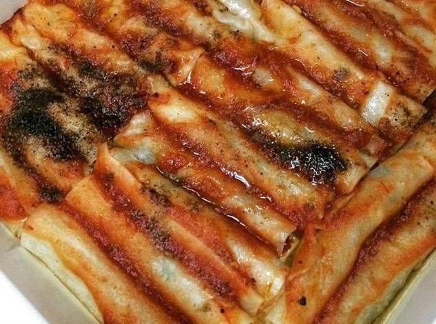 المنتو الكذاب بالصلصه الحمراء بالصور من لويمش Recipe Food Breakfast Bacon