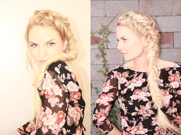I'm not so secretly in love with Jennifer Morrison & her hair is what dreams are made of. #braidqueen