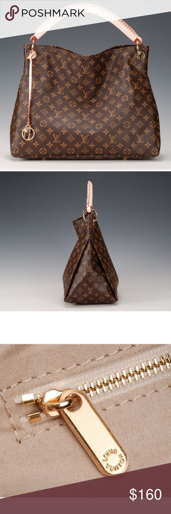 Louis vuitton mm artsy brand new louis vuitton artsy in lv brown monogram i bought