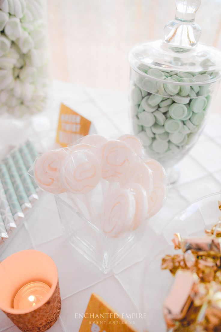 18 best Mint and Gold Candy Bar images on Pinterest | Dessert ...