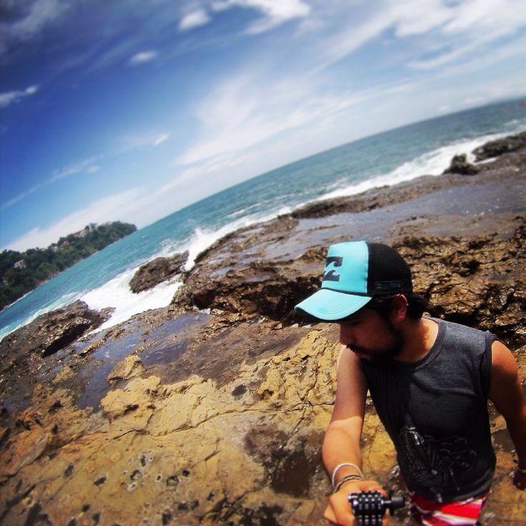 costa del pacifico #costarica #puravida #puntaleona #selfiegopro