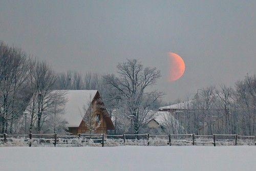 barn & the moon....