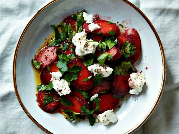 Salad of the Month: Carrot, Feta and Parsley