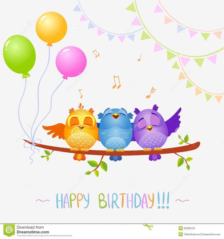 Birds-sing-birthday-illustration-funny-characters-happy