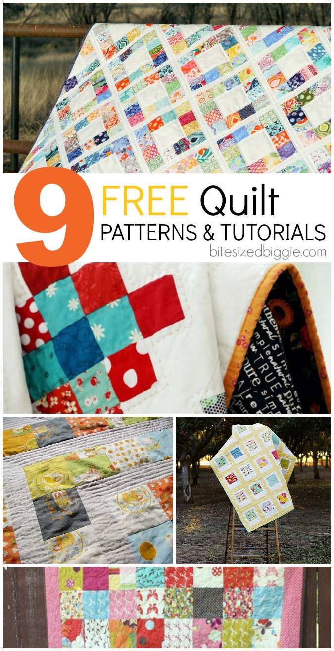 Free Patterns for Easy Charm Square Quilts Free pattern, Square quilt and Quilt