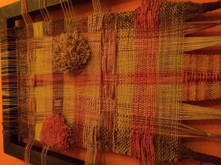 Cuadro a telar 60x100 cm  www.cristialmazan.com