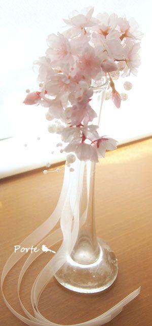 桜のリストブーケ【アーティフィシャルフラワー(造花)】