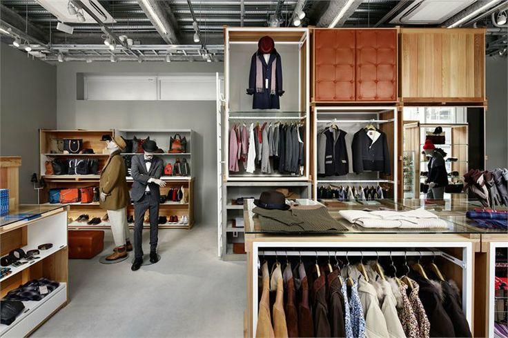 Takeo Kikuchi Shibuya, Shibuya, 2012 | Fashion Retail Interiors #retaildesign #interiordesign