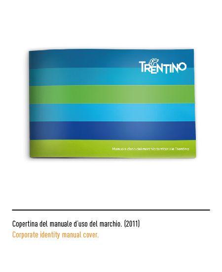 Marchio Trentino - Copertina del manuale d'uso del marchio 2011