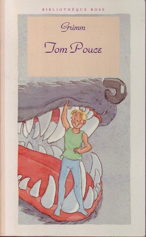 #enfance : Tom Pouce de Grimm. Hachette jeunesse, 1993. 91 pages. Collection Bibliothèque rose, illustrée en couleur.