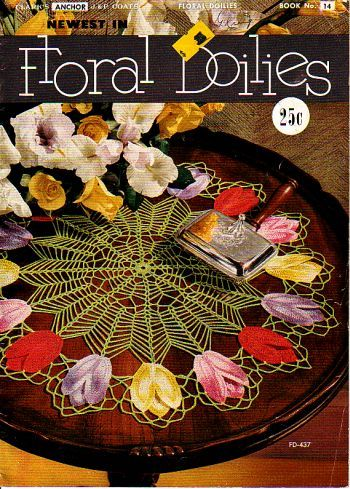 Floral Doilies, came out in 1950, in great condition . available at http://www.buggsbooks.com