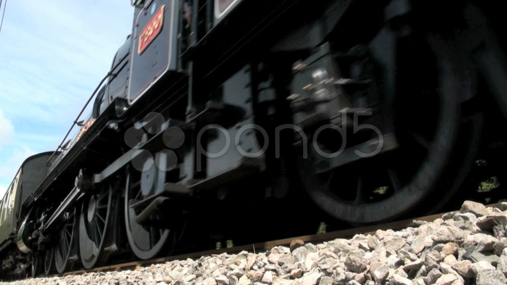 HD - $149 - Steam Locomotive and Carriages - Stock Footage | by macs