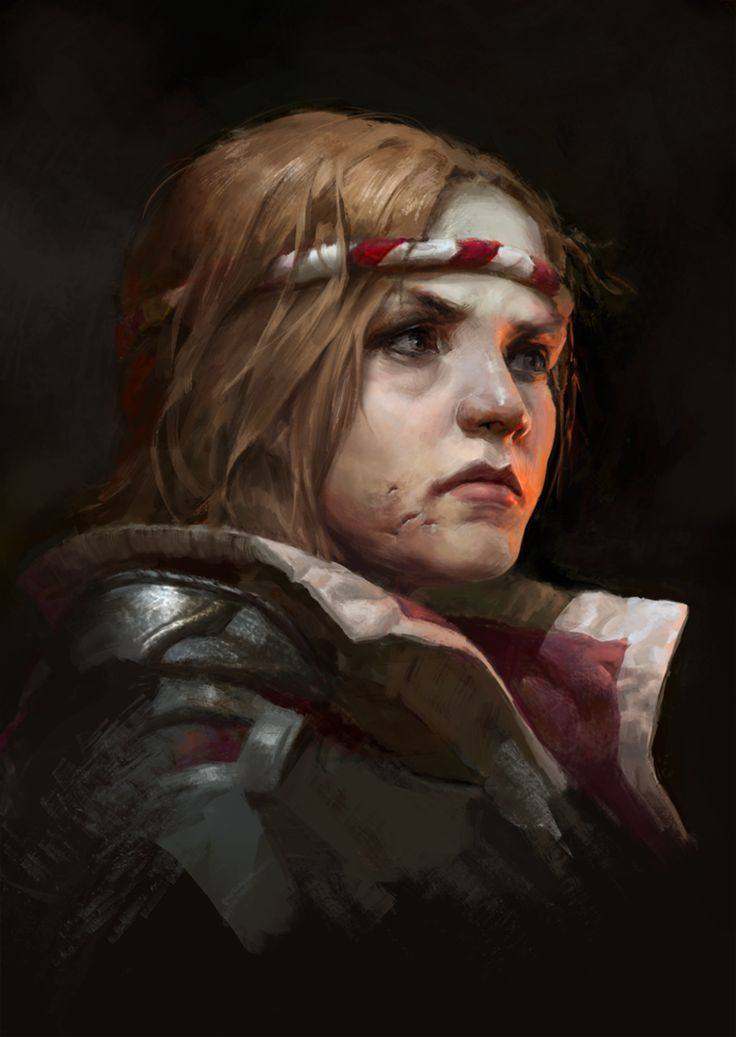 portrait by CG-sister