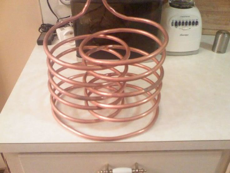Diy Interwoven Quot Rib Cage Quot Immersion Chiller Home Brew