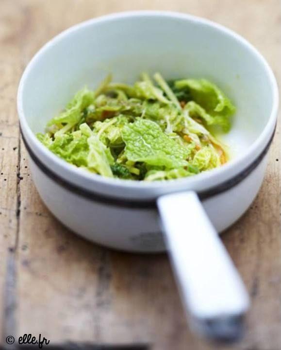 Une recette relevée de chou vert au gingembre <3 => http://ow.ly/EIOD308l477
