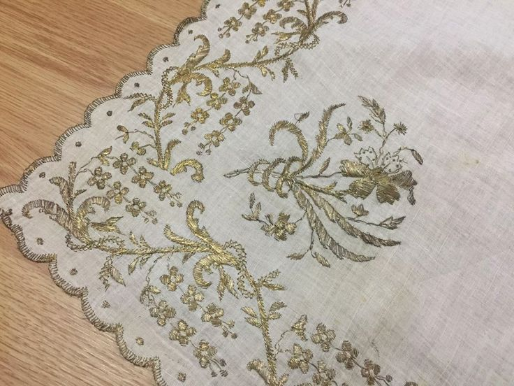 ottoman gold embroidery cevre 5